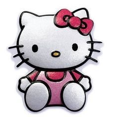 CakeDrake HELLO KITTY Sanrio Glittery Plastic Birthday Cake Decor Topper Layon 2D Pop Top by CakeDrake >>> To view further for this item, visit the image link.Note:It is affiliate link to Amazon.