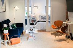 Casinha colorida: Um apartamento elegante e descomplicado em NY