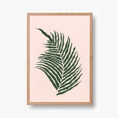 Please welcome this new fern print! 🌿 it's looking for homes all over the globe ✨ Shop link in profile!