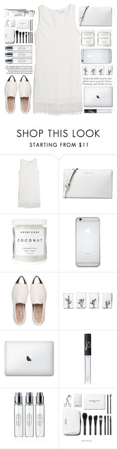 """Money on my mind"" by itaylorswift13 ❤ liked on Polyvore featuring MANGO, Michael Kors, Herbivore, Miu Miu, Casarialto, NARS Cosmetics and Byredo"