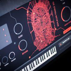 VSTi / AU plug-in retro futuristic instrument with vintage sci-fi analog sounds Retro Waves, Retro Futuristic, Electronic Music, Techno, Madness, Plugs, Diys, Instruments, Sci Fi