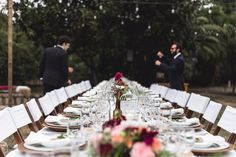 Charming outside wedding * Marsala * peach by Mary Me Eventos