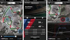BMW M Power for iOS plots our track runs for posterity. #racing #performance #app
