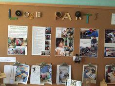 Recycled loose parts Reggio Inspired Classrooms, Reggio Classroom, Preschool Classroom, Kindergarten Activities, Preschool Ideas, Teaching Displays, School Displays, Classroom Displays, Learning Stories