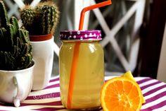 Ecco che oggi voglio svelarvi la mia ricetta per una gustosa tisana per accelerare il metabolismo! Buona da morire! Fatemi sapere se vi è piaciuta! Green Kitchen, Hot Sauce Bottles, Mason Jars, Food And Drink, Mugs, Drinks, Tableware, Health, Blog