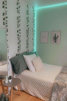 Cute Bedroom Ideas, Room Ideas Bedroom, Teen Bedroom, Ideas For Bedrooms, Room Ideas For Girls, Pinterest Room Decor, Neon Room, Room Design Bedroom, Teen Room Decor