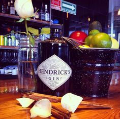 My favorite gin HENDRICK'S Gin, Vodka Bottle, My Favorite Things, Drinks, Food, Drinking, Drink, Jeans, Meals