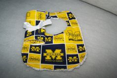Michigan Wolverines College Football Team Baby Boy by sososophie, $10.00