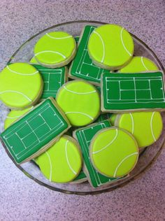 Tennis cookies