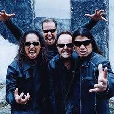 """Metallica - """"Here on the stage the Marshall noise is piercing through your ears""""."""