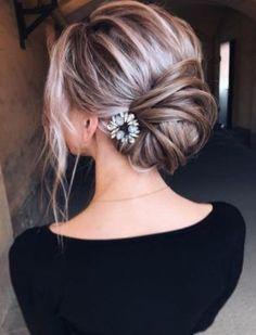 Idée Tendance Coupe & Coiffure Femme 2017/ 2018 : Wedding Hairstyle Inspiration - tonyastylist (Tonya Pushkareva)...