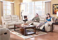 Shop for a Verano Khaki 7 Pc Blended Leather Living Room at Rooms To Go. Find Leather Living Room Sets that will look great in your home and complement the rest of your furniture.