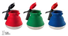 Collapsible kettle for cook stove or convection.