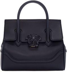 4a2bd5347a VERSACE Navy Medium Medusa Bag. #versace #bags #shoulder bags #hand bags
