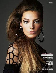 Daria Werbowy by Victor Demarchelier for Stylist Magazine #168 April 2013