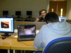 Twitter / tombparsons: casually watching porn in the library ... pic.twitter.com/eAE1NJ5x