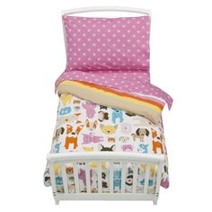 circo bow wow toddler bedding set
