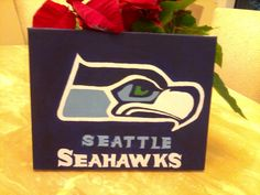 Seattle Seahawks canvas