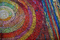 Mosaic Mural in a downtown Dallas church