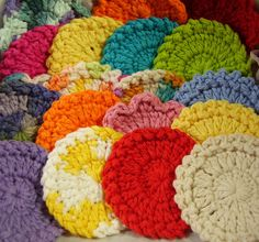 20 Facial Scrubbies  Assorted Colors and Styles  by aStateOfGrace