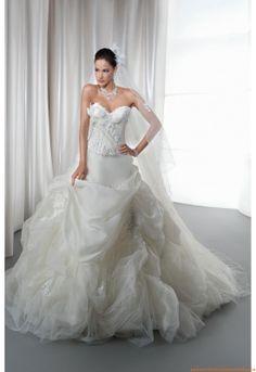Satén Mate Vestidos de novia 2013