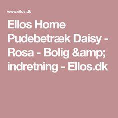 Ellos Home Pudebetræk Daisy - Rosa - Bolig & indretning - Ellos.dk