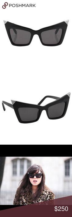 db7a83ce5b3 Alexander Wang x Linda Farrow Zoro Sunglasses From the 2010 Spring runway  show Alexander Wang x