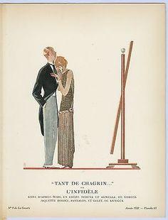 "Eduardo Benito Gazette du Bon Ton ""Tant de Chagrin..."" ou L'Infidele in Art, Art from Dealers & Resellers, Prints   eBay"