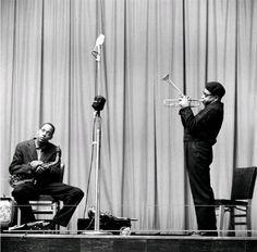 Dizzy Gillespie & Sonny Stitt, NYC, New York, 1953