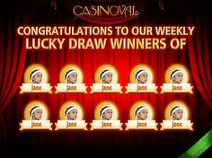 Lucky Draw Winners presentation