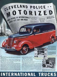 1939 International Trucks.