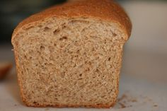 Whole Wheat Bread from The Frugal Girl!