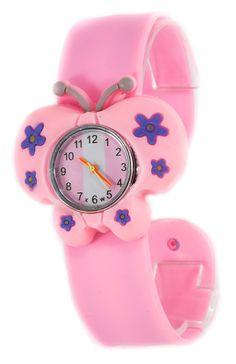 Ceas copii roz C03-1109  Culoare: roz  Curea: silicon  Diametru cadran: 2 cm  Dimensiune curea: 22 X 2cm