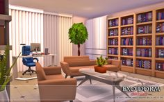 """from the lot """"Exo Dorm (No CC)"""""""