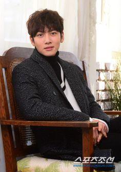"""Ji Chang Wook with """"Sport Chosun"""" ❤ J Hearts"""