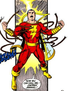 Shazam - the original Captain Marvel (DC Comics)