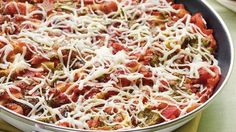 This ground beef and pasta skillet recipe is the quick-fix version of the all-time dinner favorite - with the classic Italian flavors and cheese filled layers of authentic lasagna.
