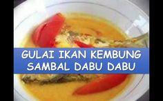 Resep dan Cara Membuat Gulai Ikan Kembung Sambal Dabu-Dabu #NyokMasak http://youtu.be/jbXbQQP-1Xw