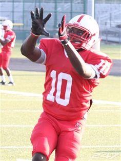 Texas Tech wide receiver commit Devin Lauderdale (Bellaire, Texas) has five touchdown receptions this season.