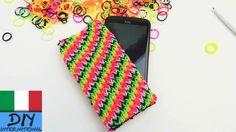 come realizzare una custodia per smartphone HTC One Plus rainbow loom ba...