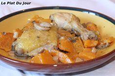 Cocotte de poulet à la courge butternut