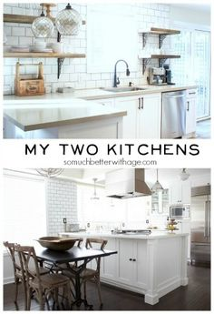 My Two Kitchens   somuchbetterwithage.com