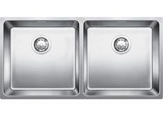 Blanco double bowl inset or flush mount sink (model ANDANO400/400IFN) for sale at L & M Gold Star (2584 Gold Coast Highway, Mermaid Beach, QLD). Don't see the Blanco product that you want on this board? No worries, we can order it in for you!
