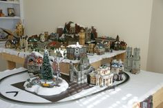 Miniature Christmas Village Displays   Christmas Village - Holiday Designs - Decorating Ideas - HGTV Rate My ...