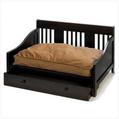 Soho Pet Bed, love the drawer on bottom to hide toys