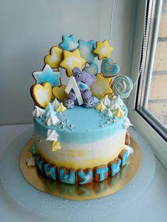 Детский торт с пряниками,