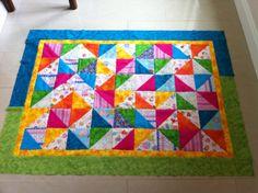 Bella's second quilt 2013