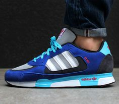 adidas Originals ZX 850 - Light Onix   Running White - Cobalt 3284bc6c3b822