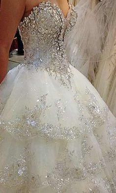 Princess Sparkle Wedding Dress