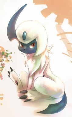Absol: Sacrificial Endurance by Deruuyo.deviantart.com on @deviantART